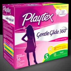 Sample of Playtex Gentle Glide