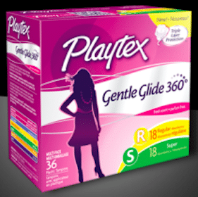 Sample of Playtex Gentle Glide