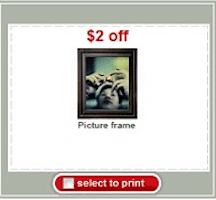 Picture Frames at Target (Coupon)