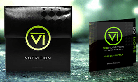SIX Nutrition's Men's Vitamins Sample