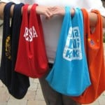 Totes from Old T-Shirts