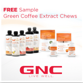 Green Coffee Extract Chews Sample at GNC Stores