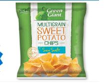 Green Giant Multigrain Sweet Potato Chips sample (Live Better America Members Only!)
