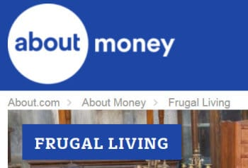about.com money/frugal living