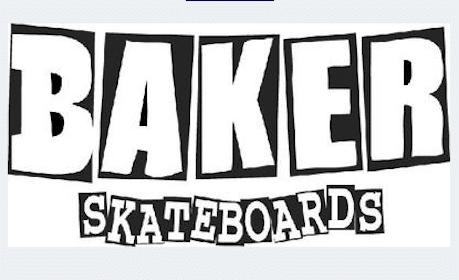 Baker Skateboards Sticker