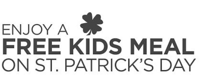 Kids Meals at Bob Evans on St. Patrick's Day