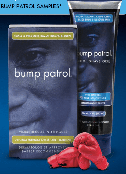 Bump Patrol Shaving Samples