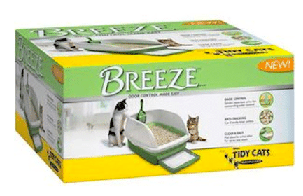 Save $10/1 Purina Tidy Cats Breeze Litter System Coupon
