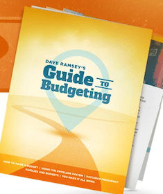 ebook: Dave Ramsey's Guide to Budgeting