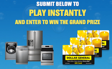 Dollar General Sweeps & Instant Win Game: Win Gift Cards + More (1800+ Winners!)