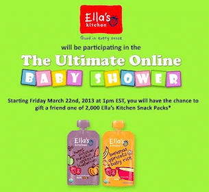 Ella's Kitchen Snack Pack on March 22