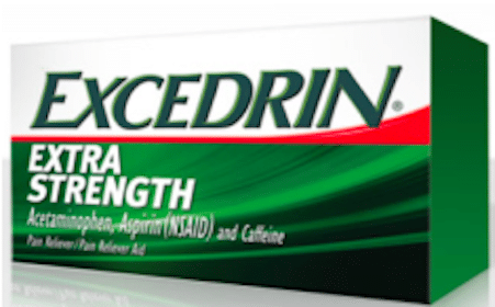 **Working Again** Excedrin Extra Strength Full Size Bottle (1st 20,000 Daily)