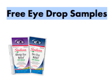 Similasan Eye Drop Samples
