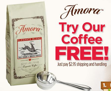 Get A FREE Bag of Coffee (S&H Required)