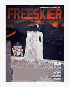 Subscription to Freeskier