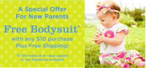 FREE Bodysuit + FREE Shipping (and 30% off Anything Else) from Gymboree