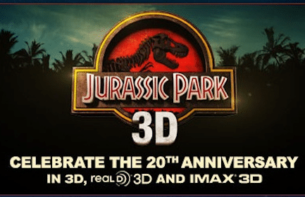 Advanced Movie Screening of Jurassic Park 3D on 3/30 (Select Cities Only)