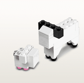 Lamb Build Event at LEGO Stores on 4/2