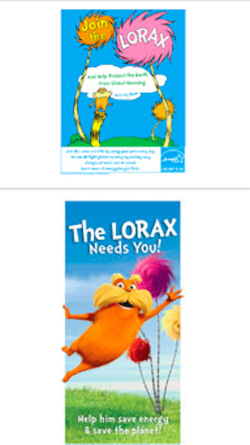 Lorax Activity Book for Kids