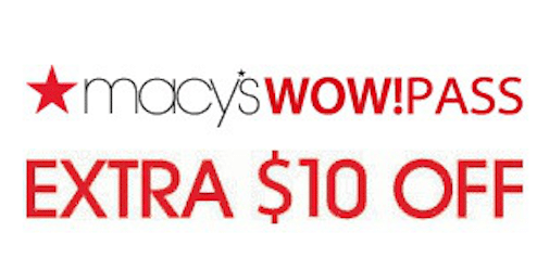Macy's Coupon: Save $10 Off a $25 Purchase (3/26 and 3/27)