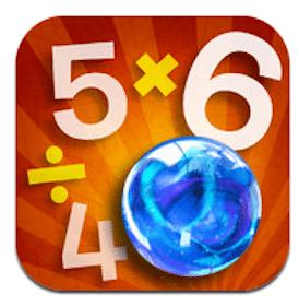 App: Marble Math ($1.99 value)