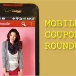 Mobile Coupon Roundup