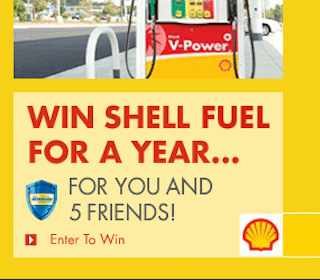 Enter to Win a Year of FREE Nitrogen Enriched Gas from Shell