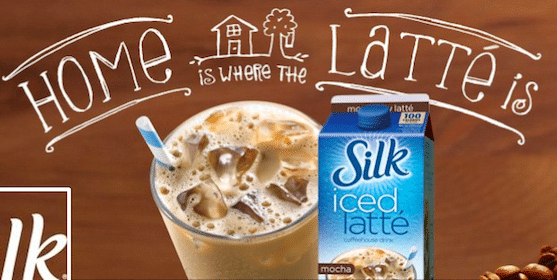 Silk Iced Latte Coupon [FACEBOOK]