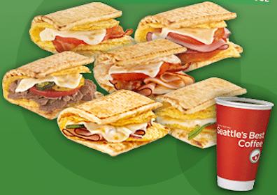 Breakfast at Subway Next Week (Select States)