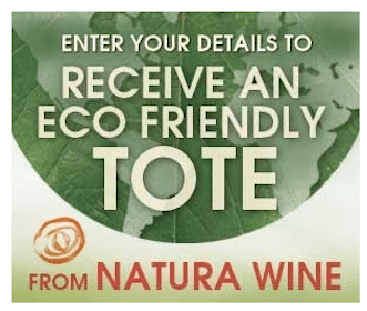 Natura Wine Tote Bag