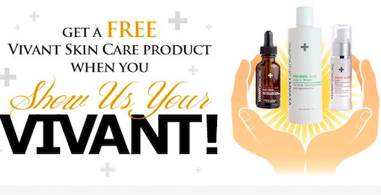 Vivant Skin Care Product on March 18