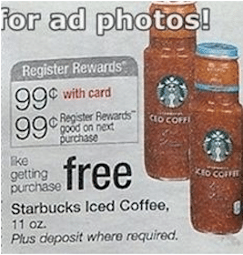 Starbucks Iced Coffee at Walgreens