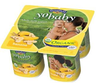 Stonyfield YoBaby Yogurt Coupon