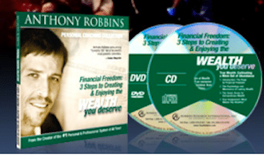 "Anthony Robbins ""The Edge"" or ""Wealth You Deserve"" CD Series (1st 10,000!)"