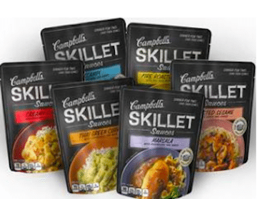 Campbell's Skillet Sauces eCoupon at Safeway & Affiliates (Just for U Members)