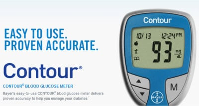 Bayer Glucose Monitor/Diabetes Kit
