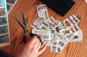 coupon clippings