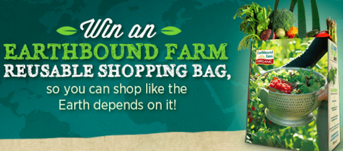 Win a FREE Earthbound Farm Reusable Shopping Bag (12000 Winners!)