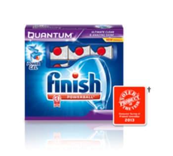 Finish Quantum Dishwashing Detergent Sample