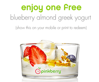 Pinkberrygreek Blueberry Almond Yogurt (April 5th-6th Only)