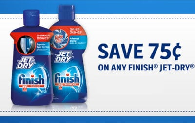 75 Cent Coupon for Jet Dry Rinse Aid