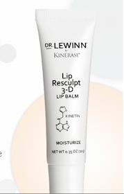 Dr. LeWinn by Kinerase Lip Resculpt 3D Lip Balm Sample