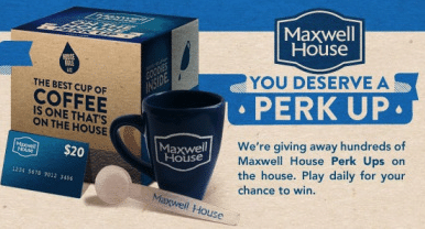 Sample of Maxwell House Single Serve Cups