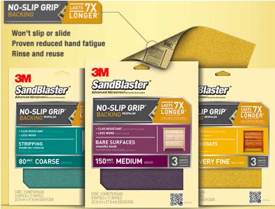 No-Slip Grip Backing Sample (1st 7,000!)
