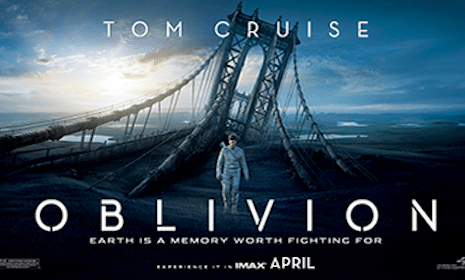 Oblivion Movie Screening Tickets