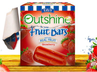 *HOT* $2/1 Edy's/Outshine Fruit Bars Coupon