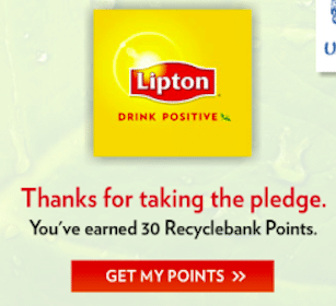 30 More Recyclebank Points