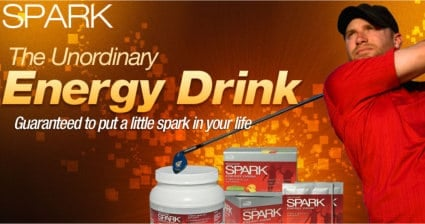 Spark Energy Drink Sample