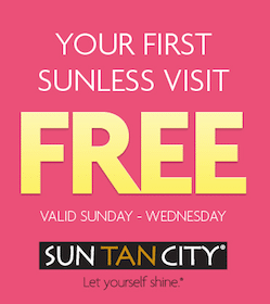 Sunless Tan at Sun Tan City