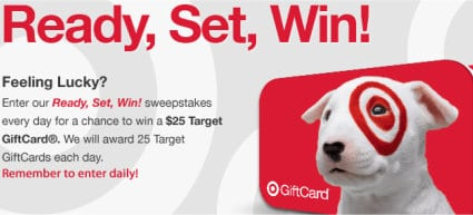 Enter to Win Target $25 Gift Card [FACEBOOK]